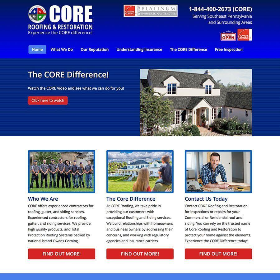 Core Roofing and Restoration